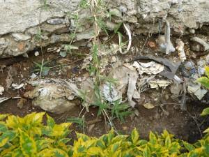 """Les couches """"géologiques"""" d'ordures"""